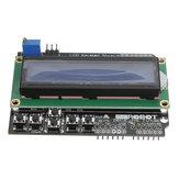 3-delig toetsenbordscherm met blauwe achtergrondverlichting voor robot LCD 1602-kaart Geekcreit voor Arduino - producten die werken met officiële Arduino-borden