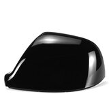 Left Rear View Mirror Cap Cover Glossy Black Replacement For Volkswagen Transporter T5 T5.1 T6