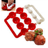 Honana KT-442 Creative Meatballs Maker Food-Grade Plastic Fish Balls Moldes DIY Stuffed Meat Ball Making Tools