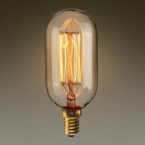 Kingso E14 T45 40W Edison Amber Vintage Incandescent Light Bulb for Home Decoration AC220V