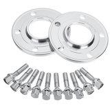 10mm hub hub centralizado rodas espaçadores hubcentric kit para bmw e36 e46 e60 E90
