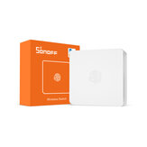 SONOFF SNZB-01 - ZB Switch sem fio Mini tamanho Link ZB Bridge com dispositivos WiFi Torne-os mais inteligentes via eWeLink APP IFTTT