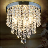 LED Pendant Ceiling Lamp Elegant Crystal Ball Light LED Chandelier Cahaya Dekorasi Rumah