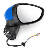 Right Driver Side Door Wing Mirror Electric Rear View For Ford Fiesta Mk7 2008-2012