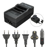 AHDBT-501 Bateria Dual Port Slot Charging Dock Carregador Para Gopro Hero 5 Câmera