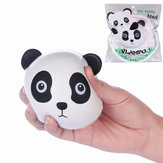 Vlampo Squishy Panda Face Head Licensed Slow Rising Oryginalna kolekcja opakowań Toy Gift Decor
