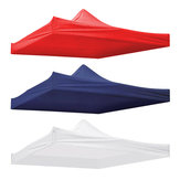 10x10ft Canopy Waterproof Top Cover Replacement Tent Patio Gazebo 420D UV Sunscreen Sunshade