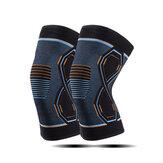 1 ζεύγος ελαστικά επιθέματα γονάτου Nylon Sports Fitness Kneepad Fitness Gear Patella Brace Running Basketball Volleyball Υποστήριξη