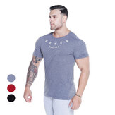Slim Men's T-Shirts Breathable Quick Dry Soft Short Sleeve Outdoor Sports jogging Hiking