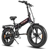 [US DIRECT] ENGWE EP-2 48V 12.5Ah 500W 20in Folding Electric Bike Top Speed 39km/h Range 35-50km E Bike for Snowfield Mountain Road