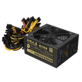 1600W Miner Graphics Card Power Supply For Mining 180~240V 80+ Platinum Certified ATX PSU