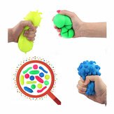Squishy Bakterier Stressbollar Reliever Fun Gift Stress Virus Model Toy