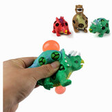 1 PC TPR Dinossauro Squishy Dinossauros Jurássicos Squeeze Toy Gift Collection Apaziguador do Stress
