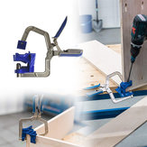 Drillpro Auto-adjustable 90 Degree Corner Clamp Face Frame Clamp Woodworking Clamp
