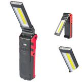 ESEN1062LED+COB400LMUSB аккумуляторная складная Авто подсветка для обслуживания светодиодный фонарик