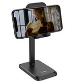 HOCO PH27 Supporto telescopico da tavolo telescopico regolabile in altezza regolabile Supporto per tablet Supporto per tablet da 4,7-10,0 pollici Smart Phone Per iPhone SE 2020 Per iPad 9,7 pollici Home Office Streaming live Apprendimento online