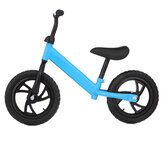 12inch Balance Bike Kids Adjustable Seat No-Pedal Toddler Training Learn Ride Baby Bicycle for 2-6 Years Old