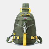 Men Fashion Casual Waterproof Chest Bag Backpack Shoulder Bag For Outdoor