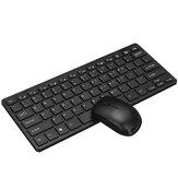 K03 Conjunto de teclado e mouse sem fio 2.4G Mini teclado ultrafino mouse silencioso 1200DPI