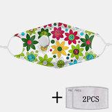 2 szt. PM2.5 Filtruj przeciwpyłkowe maski kwiatowe z maskami oddechowymi Jednorazowe