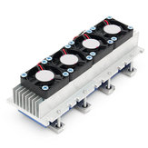 Quad Core TEC1-12706 Thermoelectric Peltier Cooling Equipment Air Refrigeration DIY Radiator