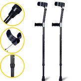 1 pieza 98-126 CM ajustable ligero Soft antebrazo antebrazo codo muletas caminar Palo