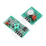 Kit Geekcreit do módulo transmissor e receptor RF sem fio 10Pcs 433Mhz para Arduino - produtos que funcionam com placas Arduino oficiais