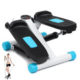 Fitness Stair Stepper Cardio Sport Fitness Stepper Machine with LCD Monitor Resistance Bands