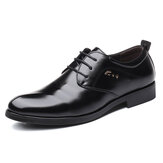 Duży rozmiar Soft Office Business Leather Oxfords