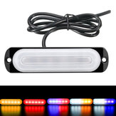 12V-24V 18W 6 LED Strobe Side Light Guide Lamp For Truck Car RV Boat