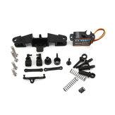 EMAX Intercepter FPV RC Auto Vorderrad Stoßdämpfer Lenkung Servofederung Teile Satz für 1/24 Fahrzeugmodell