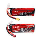 SUNPADOW ERC 7.4V 6100mAh 90C 2S Lipo Batería Enchufe T / XT60 para RC Coche