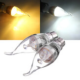 B22 3W Dimmable 300-330lm LED Chandelier Candle Light Bulb AC220V