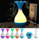 LED Essential Oil Dyfuzor Ultradźwiękowy nawilżacz powietrza Aromaterapia Oczyszczacz nocny Light