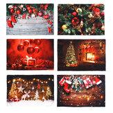 3D Natal Decoração de parede Fotografia Pano de fundo Pendurar Pano Pendurar Parede Tapeçaria Cobertor Fotografia Fundo de tela