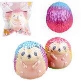 हेजहोग Squishy 9.5 * 8.5 सेमी धीमी गति से Soft पैकेजिंग के साथ खिलौना उपहार संग्रह