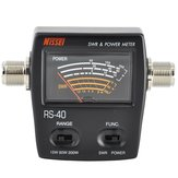 NISSEI RS-40 Power SWR Meter Meetbare Bereik 200W voor Two Way Radio met Adapter Connector