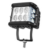 4 inch LED-werklamp 20W 2880LM Dual Color Side Shooter Rijden knipperende lamp voor Off-Road Tractor