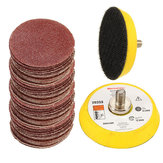 100pcs 2 Inch Sander Paper Sanding pad Polishing pad with M6 Backer Plate