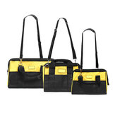 Zipper Electrician Repair Tool Bag Waist Storage Drill Cordless Belt Pouch S M L