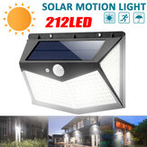 212 Led Outdoor Solar Wall Light Motion Sensor Waterproof Safety Light
