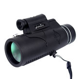 IPRee® 12X50 Monocular Waterproof Optic HD Telescope Day Night Vision With Compass Light