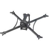 Bina Alt 250g Ultralight 5.5 İnç URUAV Konsept 220 220mm Dingil Mesafesi 4mm Kalınlık Kolu T700 Karbon Fiber Çerçeve Kit 38.3g Destek 16-20-25.5mm Yığın, FPV Yarış için Drone