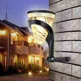 Mutifunction LED Solar Powered Outdoor Wall Light Waterproof Colorful Garden Lawn Ground Path Lamp Hanging Decotation Light