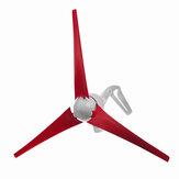 Generatoree verticale impermeabile di turbine eoliche a lanterna a 3 pale da 300 W 12V / 24V