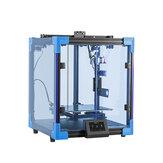 Impressora 3D de estrutura cúbica atualizada Creality 3D® Ender-6 Impressora 3D 250 * 250 * 400mm Tamanho da impressora grande Marca Fonte de alimentação / Placa-mãe ultra-silenciosa / Plataforma de impressão de vidro de carborundo / 4,3 polegadas H