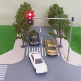 HO OO Scale Traffic ضوء Sign 5225658 Train Architecture Crossing Walk Street Street Signals