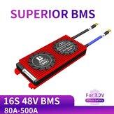 DALY BMS 16 S 48 V 80A 100A 120A 500A 3.2 V LifePo4 18650 BMS Batterij Bescherming Boord met Evenwichtige lithium Batterij Module
