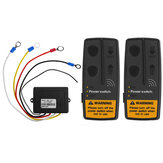 2.4G 24V 100ft Digital Wireless Winches Remote Control Recovery
