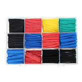 750Pcs Heat Shrink Tubing Tube Isolation Shrinkable Tube Fio Kit de luvas de cabo